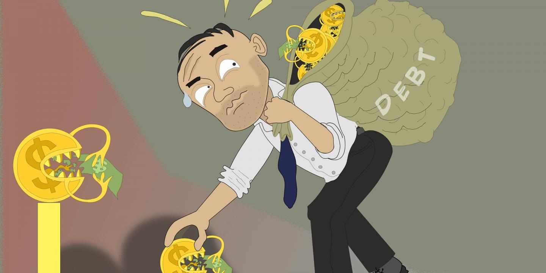 Fem sätt att ta sig ur skuldfällan